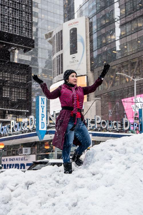 New York City Snow 2017
